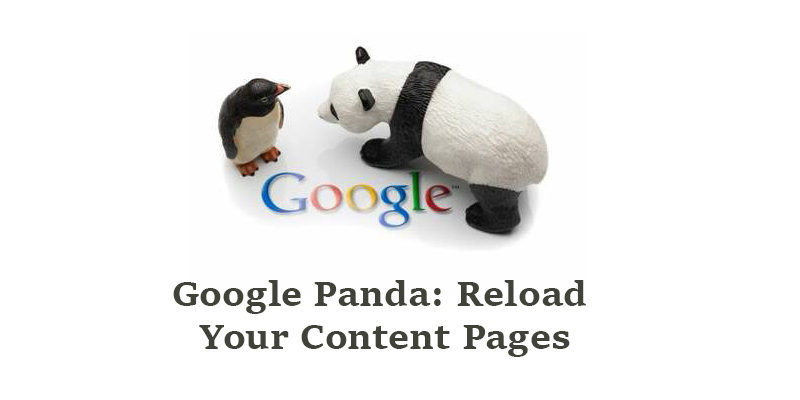 Awesome! Shooting Google Panda: Reload Your Content Pages For 2016