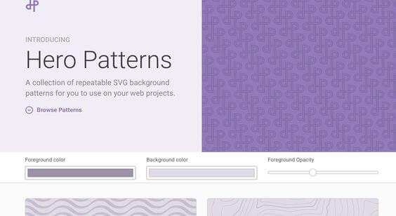 Top 7 SVG Pattern Generator Websites for Web Design Projects
