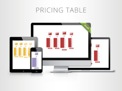 CSS3 Web Pricing Tables Pack