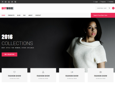 BuyMore - Bootstrap E-commerce Template