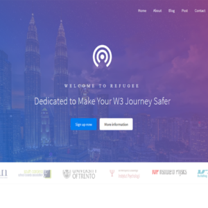 Refugee - Responsive Bootstrap Template