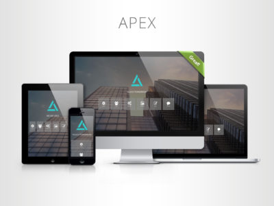 APEX - One Page Template