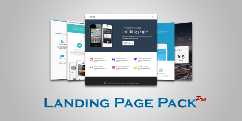 Landing Page Pack