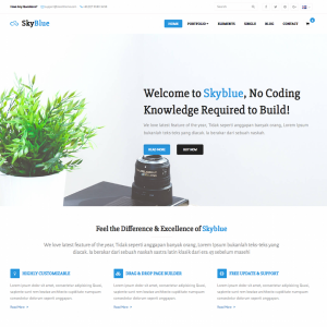 Skyblue - Corporate Bootstrap Template